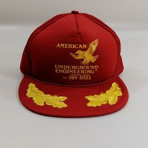 Vintage American Underground Engineering Hat